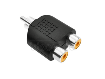 Audio video adapter RCA one points two lotus lotus revolution of double tee head switching converter