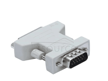 VGA revolution of DVI (24 + 5) connector and mother DVI to VGA interface graphics display video adapter quality solid transformation smoothly Transmission stability Plug and play