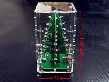 DIY Kit Shining LED Christmas Tree