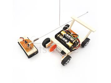 DIY Kit Telecontrolled Toy Racing Car