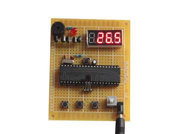 DIY Kit Temperature Alarm System Based on 51 Microcontroller