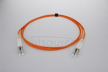 2m (7ft) LC UPC to LC UPC Duplex 2.0mm PVC(OFNR) OM1 Multimode Fiber Optic Patch Cable