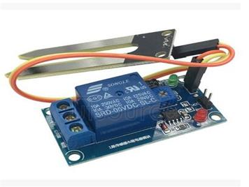 5 v relay soil humidity sensor controller module is lower than the humidity startup automatic watering