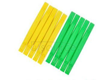 Mobile phone repair tools double curved teardown ingots of lever lever lever teardown pry plastic screwdriver (10 PCS)