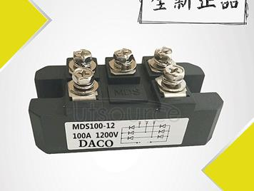 Three-phase rectifier bridge pile MDS100-12