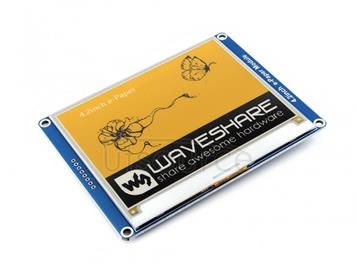 400x300, 4.2inch E-Ink display module, yellow/black/white three-color