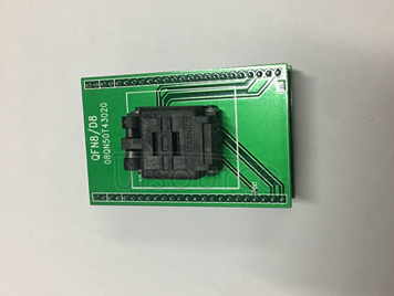 QFN8 adaptation turns DIP8 3 * 2 MM pins distance of 0.5 MM