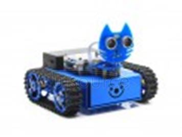 KitiBot, Starter Robot for Kids, Graphical Programming, Tracked Version