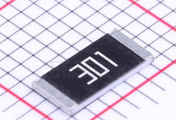 2512 Chip Resistor 5% 1W 300Ω(300R)