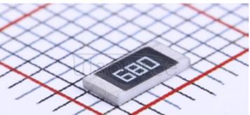 2010 Chip Resistor 5% 1/2W 68R