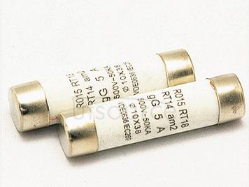 10 x38 RO15 fuse ceramic fuse tube  500MA  0.5A  500V