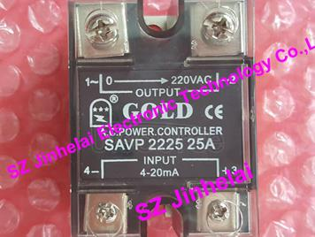 New and original SAVP2225 GOLD Solid state relay  POWER CONTROLLER  220VAC  4-20mA  25A