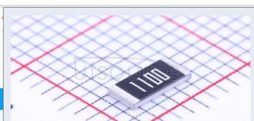 2010 Chip Resistor 1% 1/2W 110R
