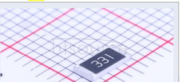2010 Chip Resistor 5% 1/2W 330R