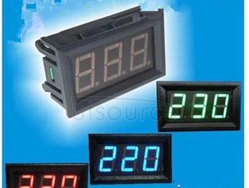 LED display two line number 2 line AC voltmeter head of AC 70 v - 380 - v - 500 - v insert type digital communication (green)