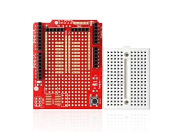 keyes Prototype Red Shield  Environmental Friendly