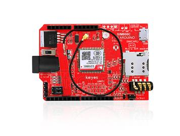 keyes SIM800C Red Breakout for Arduino Environmental Friendly