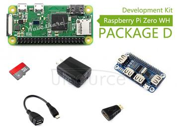 Raspberry Pi Zero WH Package D
