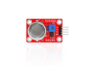 keyes MQ-4 Natural Gas and Mathane Sensor (with soldering pad-hole)