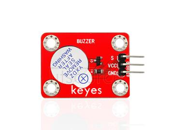 keyes Active Buzzer Module (with soldering pad-hole)