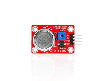 keyes MQ-2 Smoke Sensor (with soldering pad-hole)