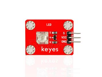 keyes Pirhana LED Yellow Light Module (with soldering pad-hole)