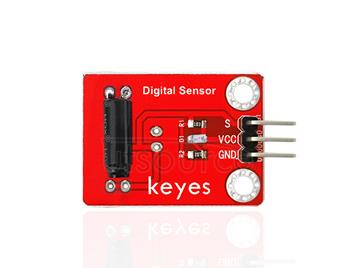 keyes Vibration Sensor (with soldering pad-hole)