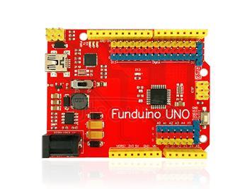 2013 The latest version Funduino UNO ATmega328P development board. Upgraded version