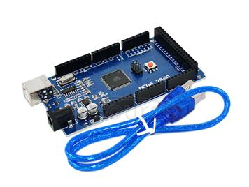 2014 Arduino MEGA2560 R3 improved board (USB cable for free)