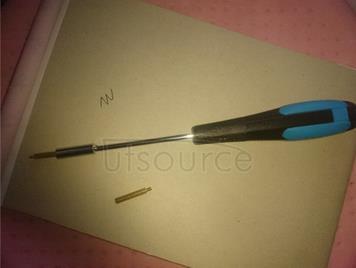 M2 monitoring copper column screwdriver M2 round knurled copper brass manual screwdriver M2: the cylinder sleeve column screwdriver knurling (circle)