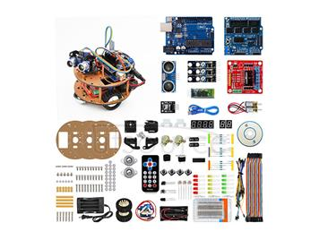 Summer is not lonely! Learn from scratch robot robot learning kit based on ARDUINO learning