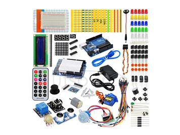 Arduino learning kit with Arduino dedicated power 9V-1A