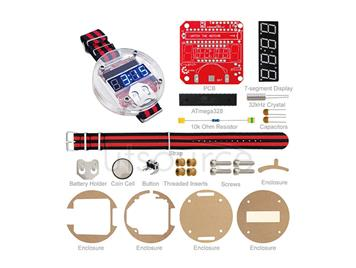 Big time DIY wearable device Arduino electronic watches programmable watches