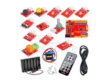 Mind+ Electronic Development Board + LED Modules + Relay + Sensor Blocks Kit
