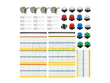 A1 Universal Carbon Resisters + Rotary Potentiometers Parts Set for Arduino?