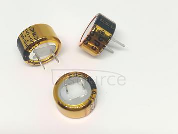Farah capacitance 5.5 V 0.1 F C pin pitch 5 mm