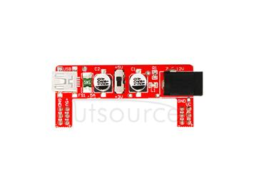 power module exclusive for breadboard/2 channel 5V/3.3V arduino red(excluding breadboard)