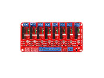 Arduino 8-contact solid-state relay(red)