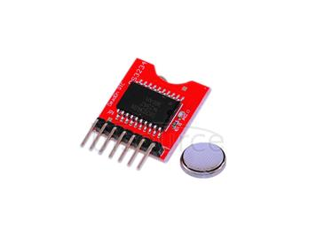 Keyes DS3234 high precision real time clock module/ ARDUINO clock module/ working even if  power disconnected