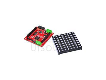 Full color 8*8 RGB Matrix/dot matrix drive board/Arduino(with dot matrix)