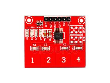 TTP224 4-contact capacitive touch switch/ 4-button touch key/ digital touch sensor module