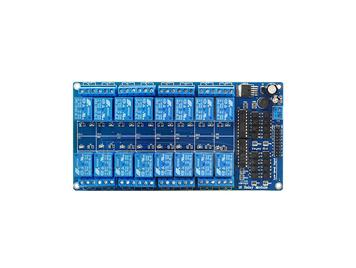 16 Way Relay (blue) / Relay Control Board / with Optocoupler Protection and a LM2576 Power Supply