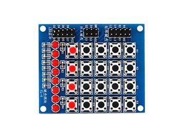 Arduino matrix keypad module/button/Marquee module