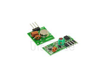 433M ultra regenerative module wireless transmitter module burglar alarm transmitter receiver