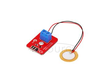 KEYES analog piezoelectricity  Ceramic vibration sensor  Electronic building blocks  Applied to ARDUINO