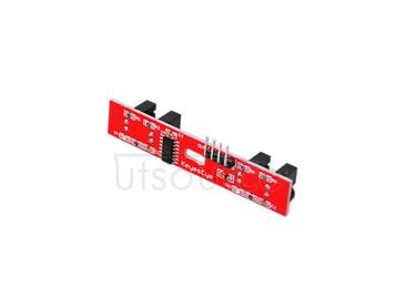 2WD speed measurement module/ intelligent tracing car/ counter/counting module/2 road motor speed measurement(red)