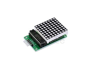 MAX7219 dot matrix/Arduino control module/single-chip module