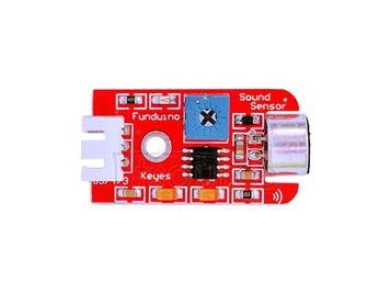 Arduino electronic bricks/ sound sensor / high sensitivity microphone / sensor module/ wire included