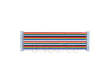 Raspberry Pi B+ raspberry pi GPIO colored 40P flat cable/rainbow flat cable/Essentials for DIY