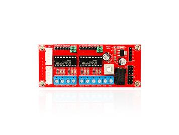 4WD DC Power Supply Motor Driver Module